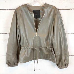 Club Monaco | 100% Leather Jacket, Size XS
